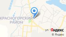 Расчетный центр, МКУ на карте