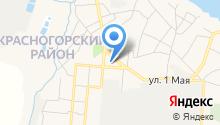 Красногорская школа-интернат на карте