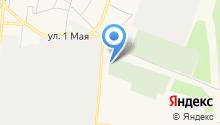Новое Волковское кладбище на карте