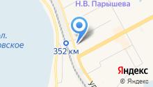 Автостоянка на ул. 2-й микрорайон на карте