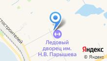 Автостоянка на ул. 1а микрорайон на карте