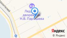 Aircom на карте