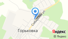 Горьковская сельская библиотека на карте