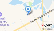 Акварели на карте