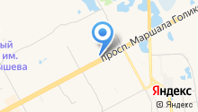 Автостоянка на ул. 7-й микрорайон на карте