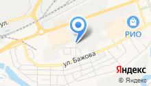 1C Сервис на карте