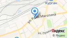 Аварийная диспетчерская служба на карте