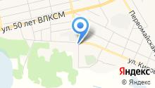 Исетская районная станция по борьбе с болезнями животных на карте