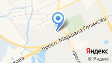 Авторемонтная зона на карте