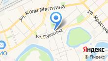 Pushka на карте