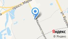 АТОМКОР Профлист на карте