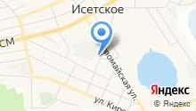 Исетский районный суд на карте