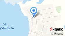 Алкоритм на карте