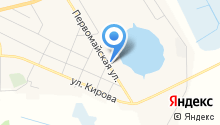 Метрополис на карте