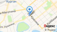 Административно-техническая инспекция г. Кургана на карте