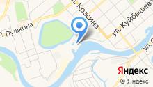 Центр Государственной инспекции по маломерным судам МЧС России по Курганской области на карте