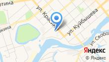 Астра-М на карте