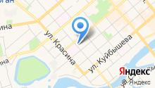 Адвокатская палата Курганской области на карте