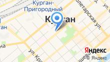 БАНК КУРГАН, ПАО на карте