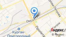 АвтоМаx на карте
