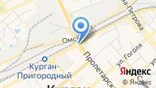 Автостоянка на Станционной на карте