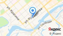 Артковка на карте