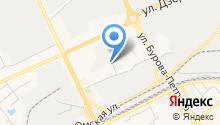 Автосервис на Кирпичной на карте