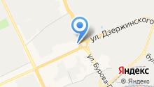 Автомойка на Дзержинском кольце на карте