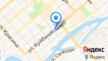 SM на карте