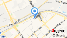 Processor service на карте