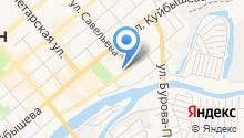Областная СДЮСШОР №2 на карте