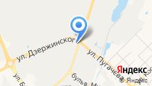 Автофаворит на карте
