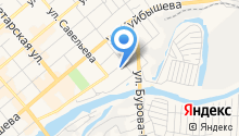 Автостоянка на Сибирской на карте