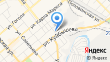 Адвокатский кабинет Востротина Ю.М. на карте