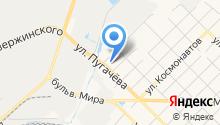 АКВАленд на карте