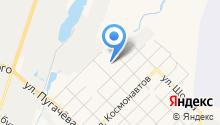 Автостоянка на ул. Макаренко на карте