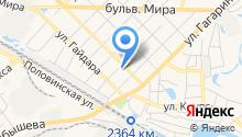 Автомойка на ул. Пугачева на карте