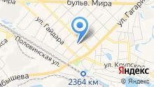 Автосервис на ул. Пугачева на карте