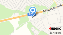 ЕвроАзия на Московском на карте