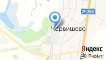 Червишевский на карте