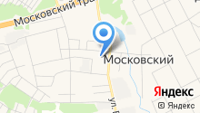 Московская сельская библиотека на карте