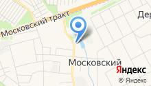 Продуктовый магазин на ул. Бурлаки на карте