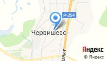 Червишевская амбулатория на карте