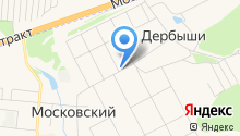 Золотой Казахстан на карте