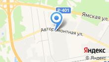 ESTA на карте