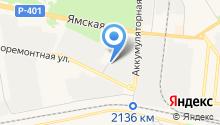 EMEX-Сервис на карте