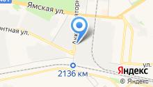Эконекс на карте