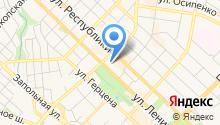 Автостекольная установочная станция на карте