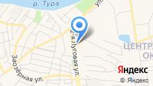 7D аттракцион на карте