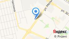 Тюменское центральное агентство воздушных сообщений на карте